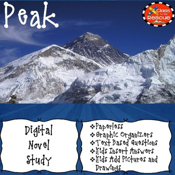 Digital Peak Novel Study