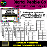 Digital Pebble Go Research Bookmarks - Google Classroom Di