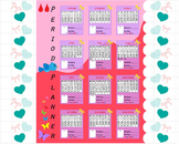 Digital Period Planner Poster 2015 Calendar and Digital Kawaii Stikers(152)
