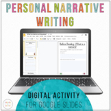 Digital Personal Narrative Writing | Distance Learning