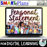 Digital Personal Statement Writing: Lesson, Handouts, Prom