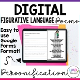 Digital Personification Poems with Poetry Comprehension