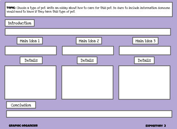 Digital Expository Writing Journal- 10 Weeks of Prompts- For Google Slides