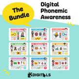 Digital Phonemic Awareness Bundle | Google Slides™ & Seesaw™