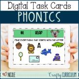 FLASH SALE Digital Phonics A-Z Task Cards Make a Dog!
