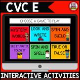 Digital Phonics Activities: CVC E Words
