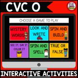 Digital Phonics Activities: CVC O Words