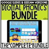 Digital Phonics Activities BUNDLE for Seesaw & Google Slid