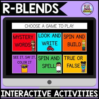 Digital Phonics Activities: R-BLENDS