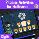 Digital Phonics Activities for Halloween