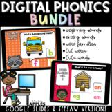 Digital Phonics Activities BUNDLE | Distance Learning