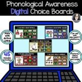 Digital Phonics Choice Boards - Distance Learning