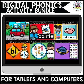 Digital Phonics: Activity Bundle