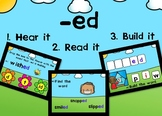 Digital Phonics Game for the Suffix -ed Boom Cards™
