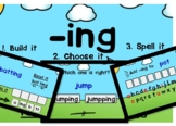 Digital Phonics Game for the Suffix -ing Boom Cards™