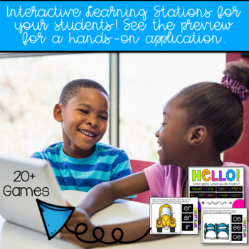 Digital Phonics Games Growing Bundle