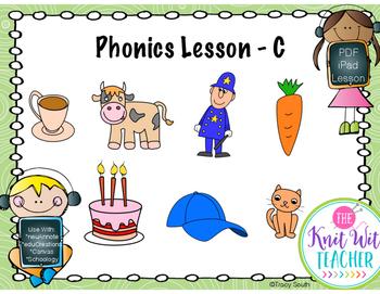 Digital Phonics Lesson - Letter C