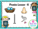 Distance Learning Phonics Lesson - Letter N
