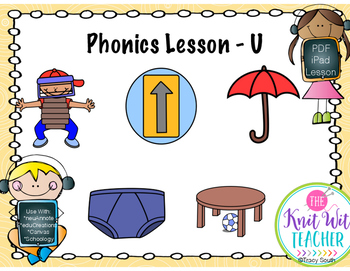 Digital Phonics Lesson - Letter U
