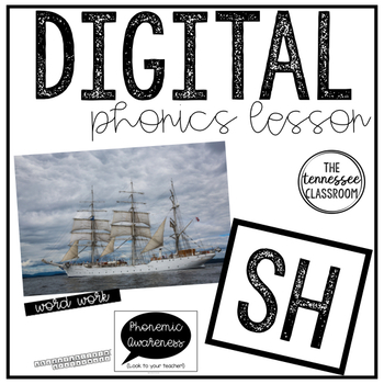 Digital Phonics Lesson: sh
