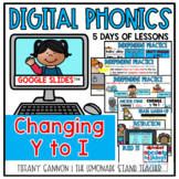 Digital Phonics Lessons CHANGE Y TO I Slides