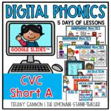 Digital Phonics Lessons CVC SHORT A Slides