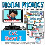 Digital Phonics Lessons CVC SHORT I Slides