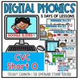 Digital Phonics Lessons CVC SHORT O Slides