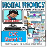 Digital Phonics Lessons CVC SHORT U Slides