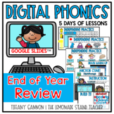 Digital Phonics Lessons End of the Year REVIEW Slides