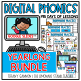 Digital Phonics Lessons GROWING BUNDLE Google Slides TM