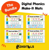 Digital Phonics Make-It Mats Google Slides™ & Seesaw™ | Gr