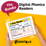 Digital Phonics Mats Bundle | Distance Learning