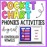 Digital Phonics Pocket Chart Activities - R Controlled Vowels