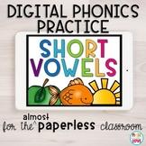 Digital Phonics Practice: Short Vowels