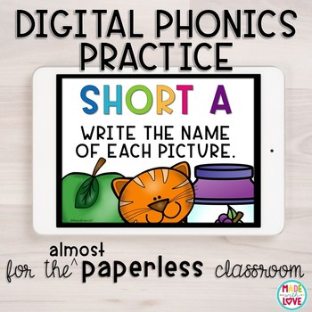 Digital Phonics Practice: Short a
