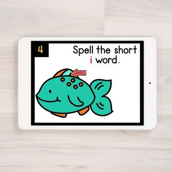 Digital Phonics Practice: Short i