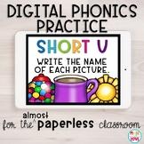 Digital Phonics Practice: Short u