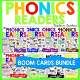 Digital Phonics Readers BUNDLE-Boom Cards™