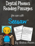 Digital Phonics Reading Passages - Distance Learning - Pre