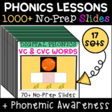 Digital Phonics Reading and Spelling Big Bundle with Real