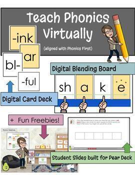 Digital Phonics Resources Aligned with Phonics First