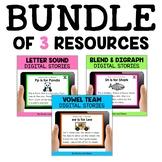 Digital Phonics Stories Bundle