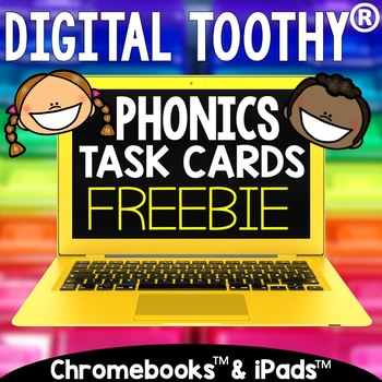 Digital Phonics Toothy® Freebie | Long I Vowel Teams | Distance Learning