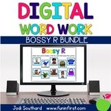 Bossy R Digital Phonics Word Work Bundle