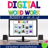 Digital Phonics Word Work - Bossy R-er, ir, ur