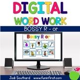 Digital Phonics Word Work - Bossy R-or