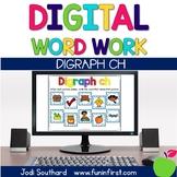 Digital Phonics Word Work - Digraph Ch