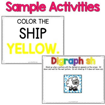 Digital Phonics Word Work - Digraph Wh