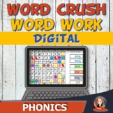 Digital Phonics Word Work Game for Distance Learning